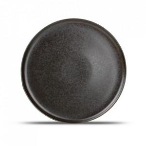Platou negru din portelan 27,5 cm Ceres Fine2Dine