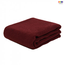 Pled rosu din poliester 130x170 cm Febe Red Pear LifeStyle Home Collection
