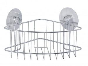 Raft de colt argintiu din otel 19x26,5 cm Static-Loc Osimo Deep Silver Wenko