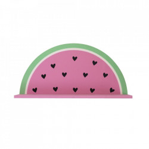 Raft multicolor din lemn 37 cm Watermelon A Little Lovely Company