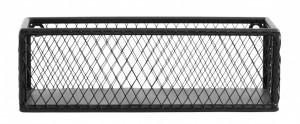 Raft negru din fier 28 cm Iron Spice Single Rack Nordal