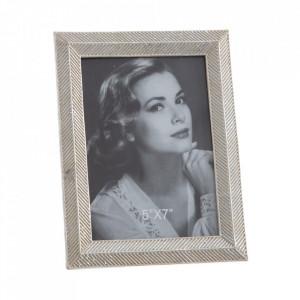 Rama foto argintie din polirasina 16x21 cm Iraklo Ixia