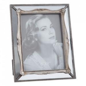 Rama foto argintie din polirasina 21x26 cm Malor Ixia