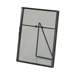 Rama foto neagra din metal 14,5x18 cm Gallery Be Pure Home