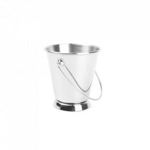 Recipient argintiu din inox pentru servire 9,2x9,5 cm Serve Aerts