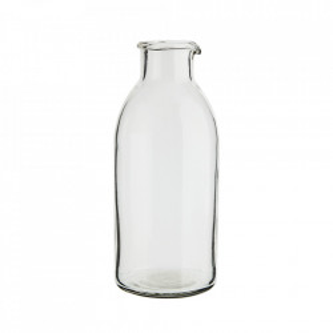 Recipient transparent din sticla 9,5x22 cm Dia Madam Stoltz