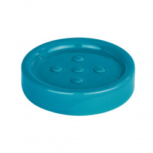 Savoniera albastru petrol din ceramica 2,5x11 cm Polaris Wenko