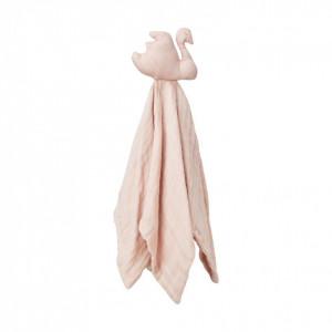 Scutec muselina din bumbac organic Swan Blossom Pink Cam Cam