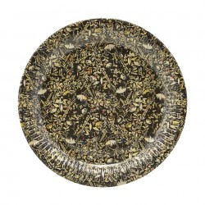 Set 12 farfurii aurii din hartie 23 cm House Doctor