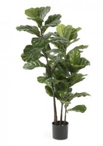 Set 2 plante artificiale in ghiveci din plastic 165 cm Flower Lyratas La Forma