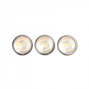 Set 3 becuri LED dimabile GU10 4W Lino LABEL51
