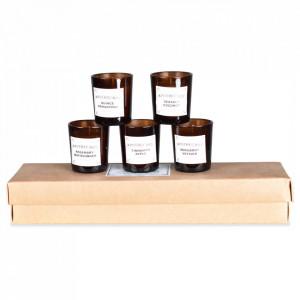 Set 5 lumanari parfumate 7 cm Apothecary Opjet Paris