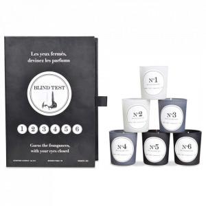 Set 6 lumanari parfumate Blind Opjet Paris