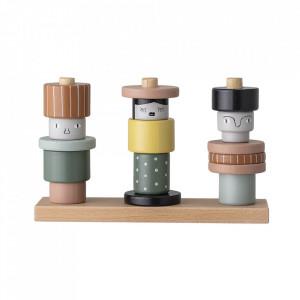 Set de joaca multicolor din lemn Tovi Bloomingville