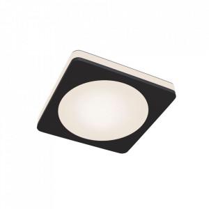 Spot negru din aluminiu cu LED Square Big Phanton Maytoni
