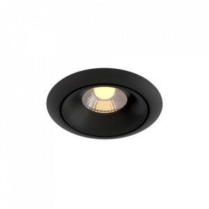 Spot negru din aluminiu cu LED Yin Maytoni