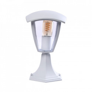 Stalp de iluminat exterior alb din aluminiu 29 cm Fox Gespa Milagro Lighting