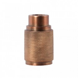 Suport lumanare maro alama din metal 9 cm Ale Brass Small LifeStyle Home Collection