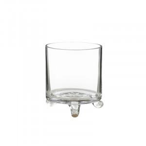 Suport lumanare transparent din sticla 17 cm Dome Lifestyle Home Collection
