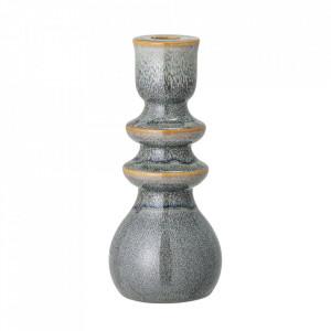 Suport lumanare verde din ceramica 19 cm Azov Bloomingville