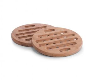Suport maro din lemn pentru vase fierbinti Hot Pot Zeller