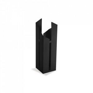 Suport negru din metal pentru umbrela 52 cm Rainy Black Versa Home