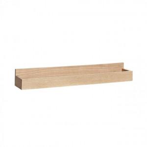 Suport reviste maro din lemn pentru perete Amalia Hubsch