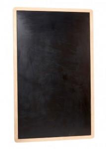 Tabla de scris neagra/maro din lemn si MDF 100x160 cm Mills Hubsch