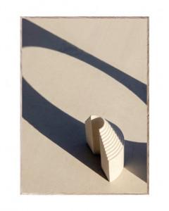 Tablou cu rama din lemn de stejar Neoclassic II Paper Collective