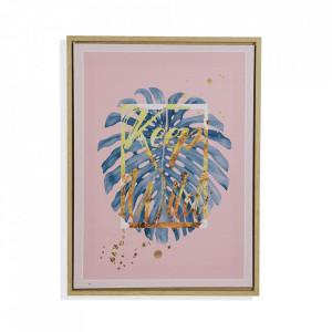 Tablou multicolor din canvas 30x40 cm Keep Wild Versa Home
