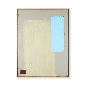 Tablou verde fistic/albastru din canvas si lemn 63x83 cm Irma HK Living