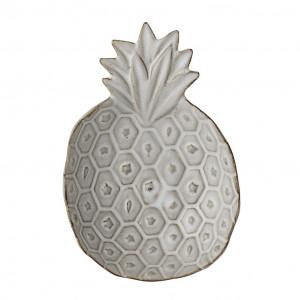 Tava crem din ceramica Ananas Bloomingville