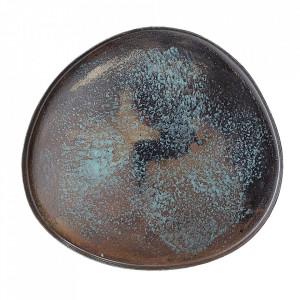 Tava decorativa multicolora din metal 11x12 cm Ary Bloomingville