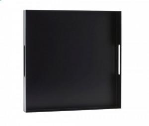 Tava neagra din aluminiu si cauciuc 40,6x40,6 cm Alu Big House Doctor