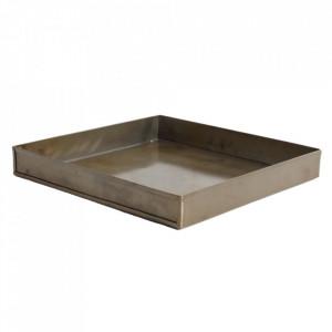 Tava patrata aramie din fier 26x26 cm Industrial Raw Materials