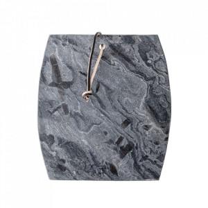 Tocator dreptunghiular gri din ardezie 25,5x28 cm Renna Bloomingville
