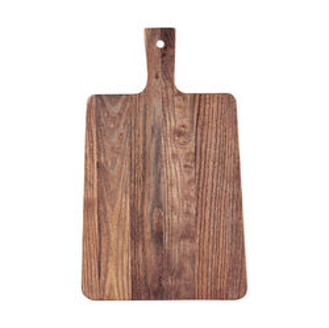 Tocator dreptunghiular maro din lemn 26x42 cm Hanna House Doctor