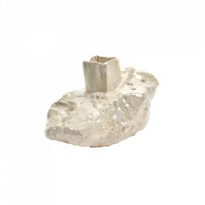 Vaza alba din ceramica 11 cm Moonstone Serax