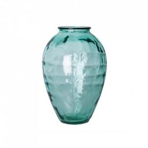 Vaza albastra din sticla 43 cm Michael Vical Home