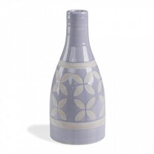 Vaza albastru deschis din ceramica 30 cm Arco La Forma
