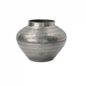 Vaza argintie din aluminiu 12 cm Arti House Doctor