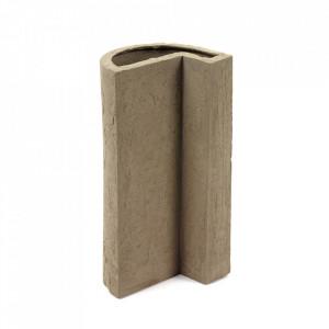 Vaza gri din ciment 29 cm Aris Serax