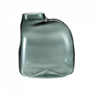 Vaza gri fum din sticla 22 cm Bronco Bolia