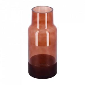 Vaza maro din sticla 25 cm Small Narela La Forma
