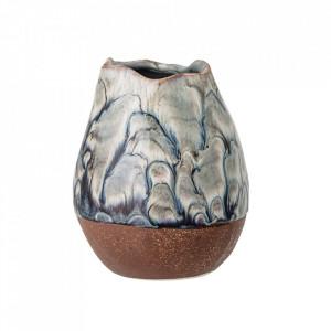 Vaza multicolora din ceramica 13,5 cm Kamira Bloomingville