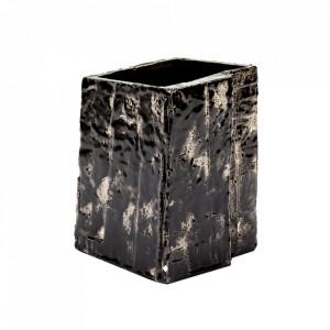 Vaza neagra din ceramica 19 cm Love for Nature Serax