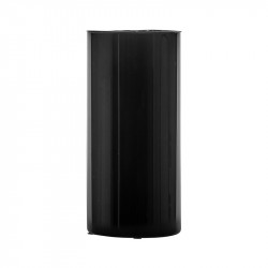 Vaza neagra din sticla 40 cm Wyatt Vical Home