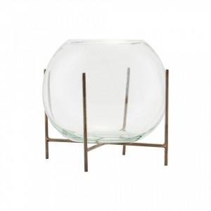 Vaza transparenta din sticla 12 cm Ada House Doctor