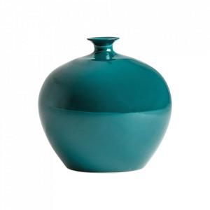Vaza turcoaz din ceramica 35 cm Suki Vical Home