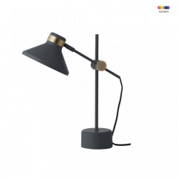 Veioza albastra din metal 44 cm MR Dark Blue Frandsen Lighting